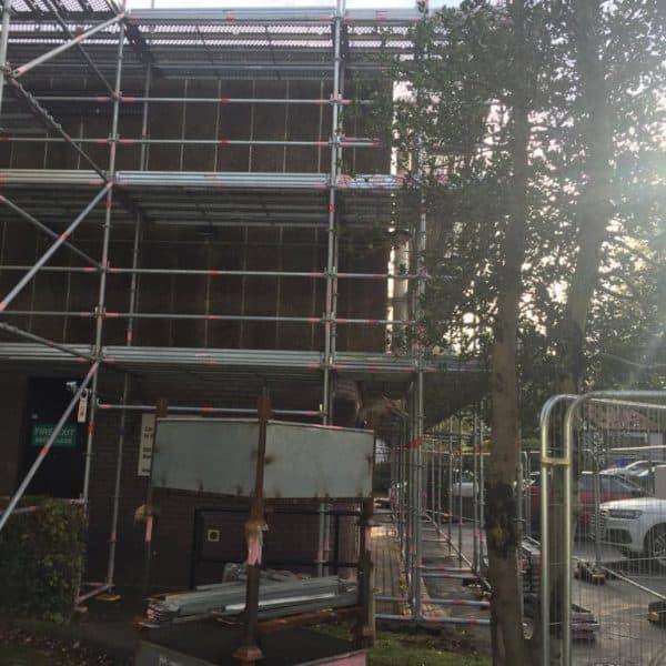 scaffolding instalation